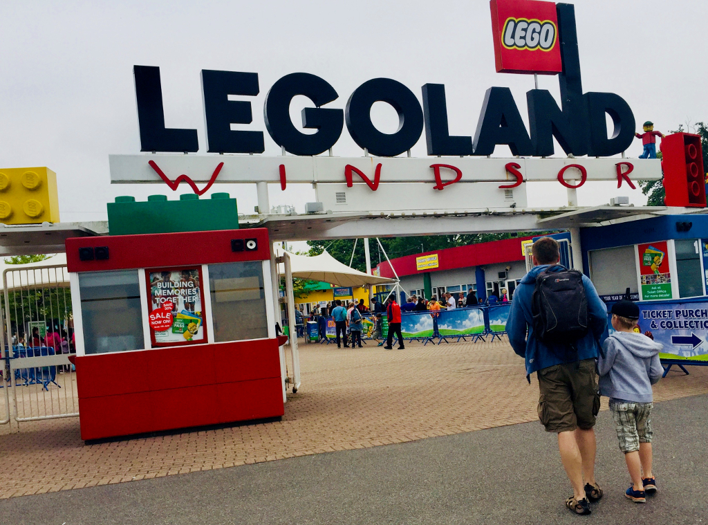 Top Tips Visiting Legoland Windsor Entrance