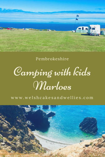 Camping with kids Marloes