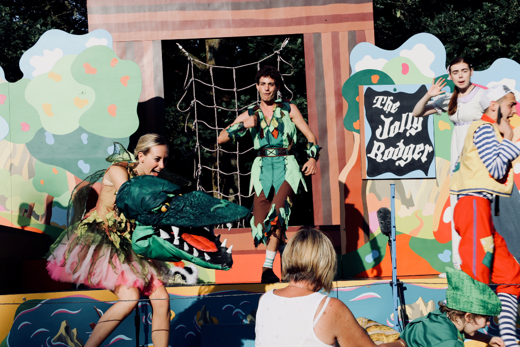 Immersion Theatre's Peter Pan Bryngarw Park - 12