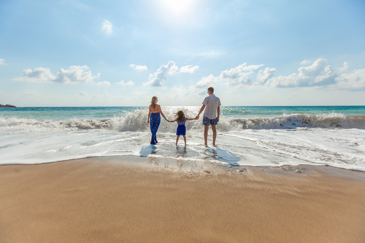 how to get over Holiday Blues - Beach