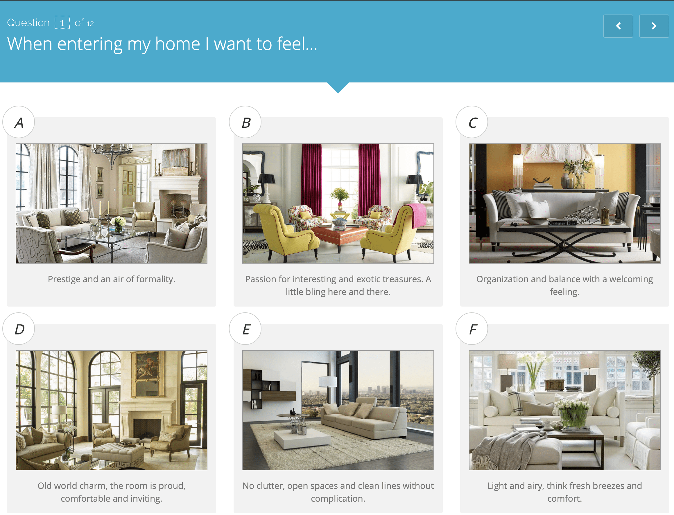 5 Home Decorating Style Quizzes That Work Welsh Design Studio