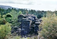The Engine House ruin before work began
