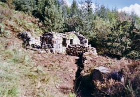 The Smithy building is exposed