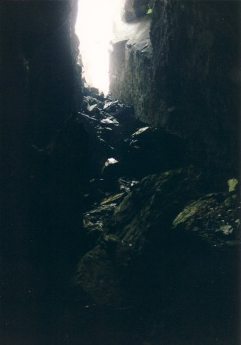 Shaft to the east of the Upper Adit
