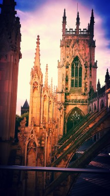 York Minster by J. Robson