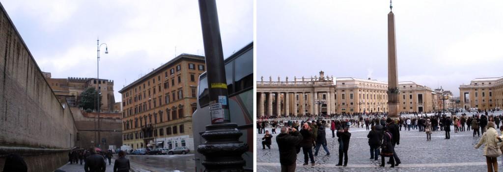 Vatikan und Petersplatz