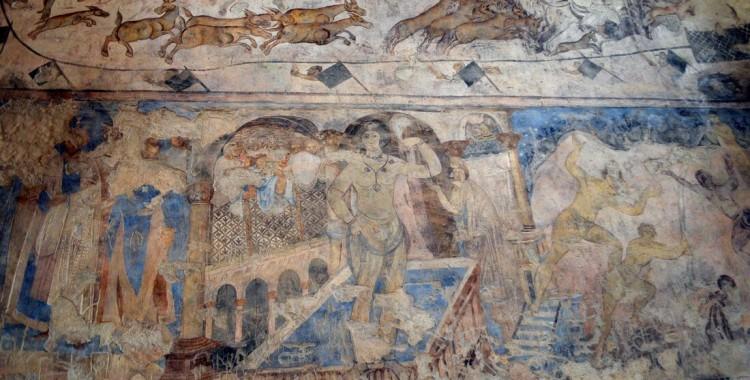 Fresken Umayyaden-Schloss