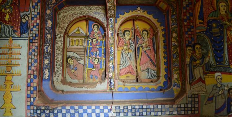 Klosterkirche Malereien