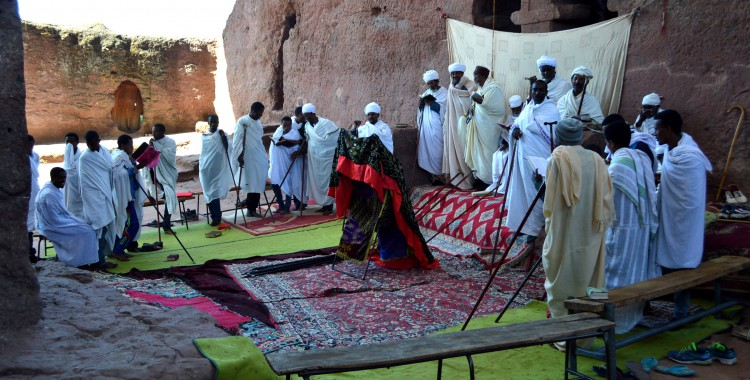 Priester Äthiopien