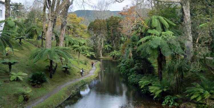 Azoren Parklandschaft
