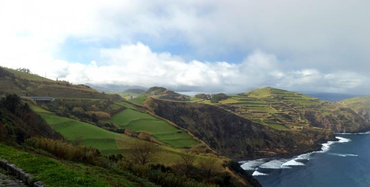 Küstenpanorama Azoren