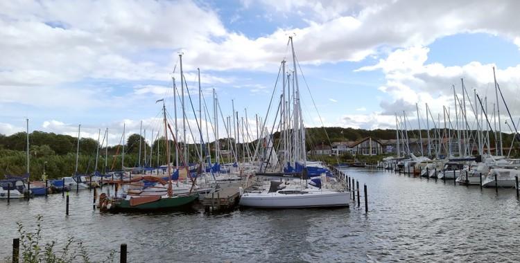 yachthafen schausende