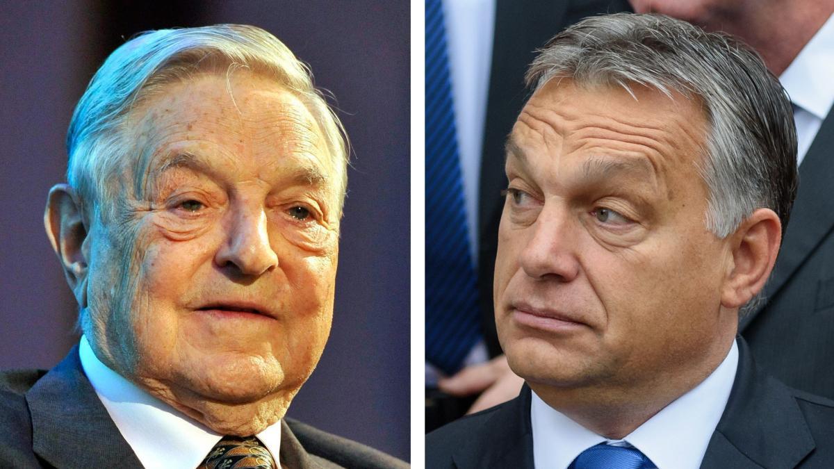 Victor Orbán Gibt Milliardär George Soros Mitschuld An Der