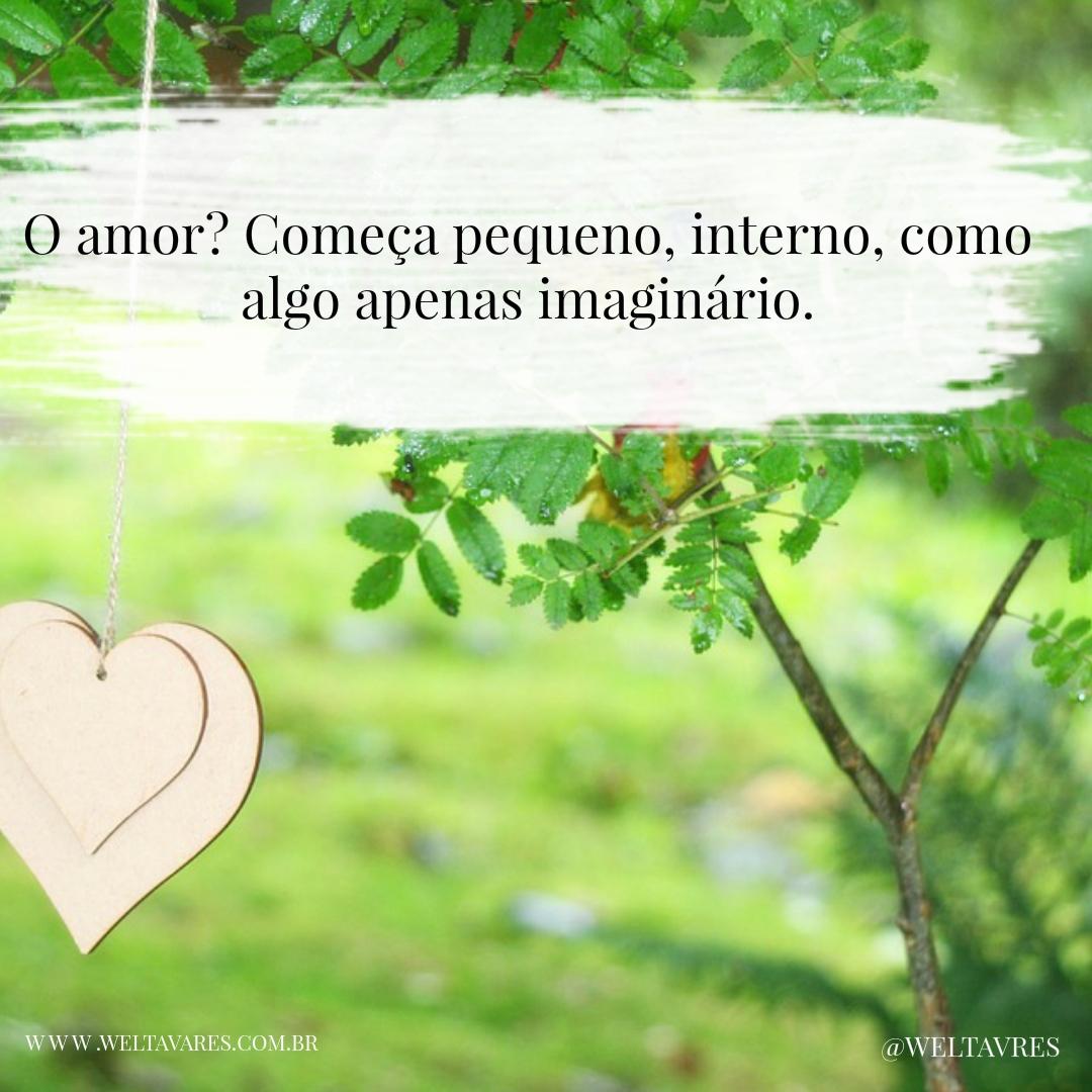 O amor começar...