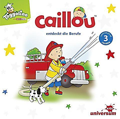 Caillou Entdeckt Die Berufe, 1 Audiocd Hörbuch Günstig