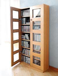 CD-Schrank Farbe: Nussbaum jetzt bei Weltbild.ch bestellen