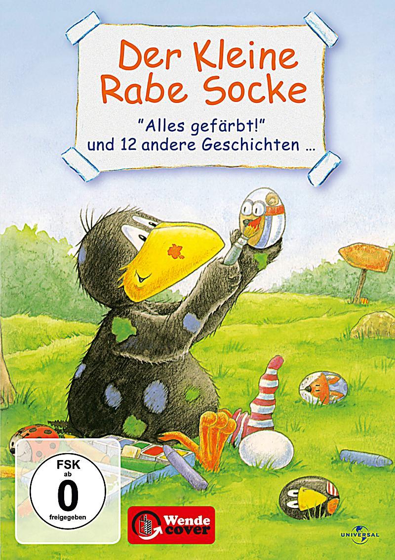 Der kleine Rabe Socke - Alles gefärbt! DVD Weltbildch