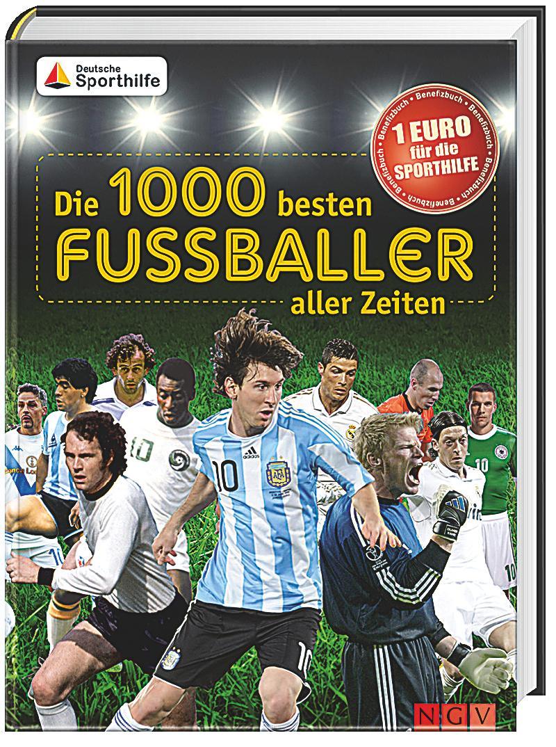 Die 1000 besten Fußballer aller Zeiten Buch portofrei