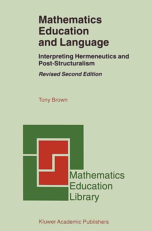 Mathematics Education And Language Buch Portofrei Bei