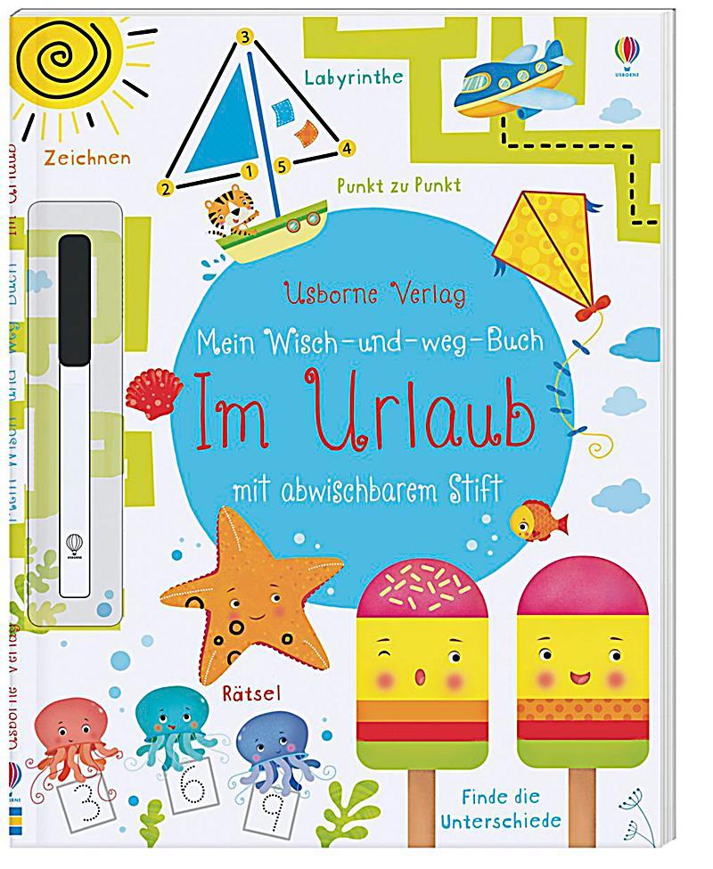 Mein WischundwegBuch, Im Urlaub Buch bei Weltbildde