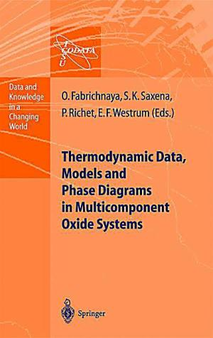 Thermodynamic Data, Models, and Phase Diagrams in