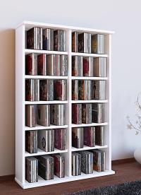 VCM CD DVD Mbel Ronul Schrank Regal ohne Glastr in 7 ...