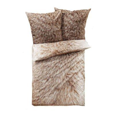 Fell Bettwäsche Bettwäsche Garnitur Polar Fleece Fell Imitat