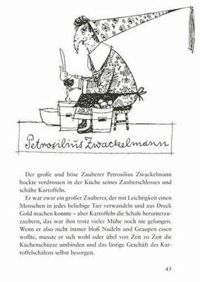 Petrosilius Zwackelmann Ausmalbilder Räuber Hotzenplotz