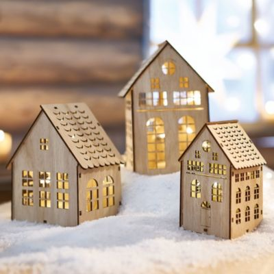 Weihnachtsdeko Bei Weltbild.Weihnachtsdeko Häuser