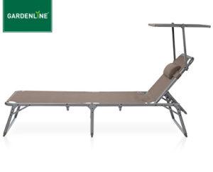 Gardenline AluminiumDreibeinliege im Aldi Sd Angebot