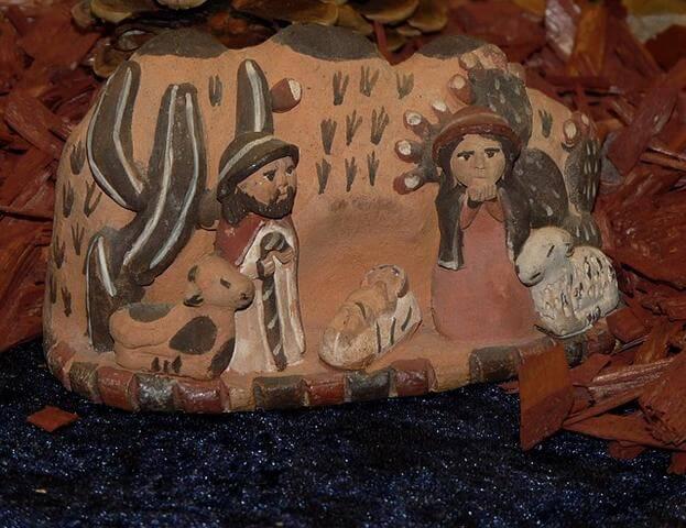 Darstellung von Maria und Josef