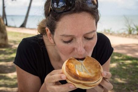 A tasty steak pie