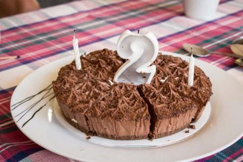 Bavarian Chocolate Cake