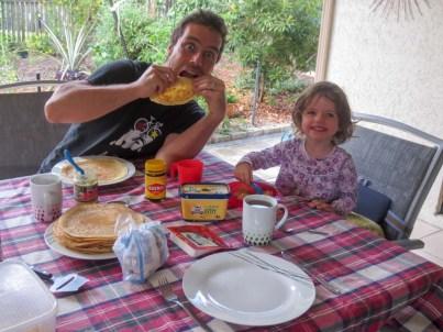 Pancakes like Mama's
