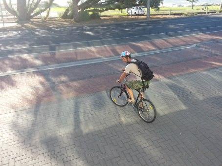 Endlich mal wieder Fahrrad fahren