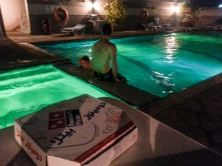Pool-Pizza Dubai