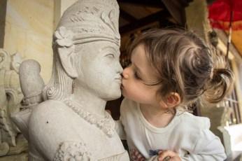 Cool kiss