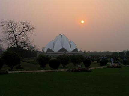 Ein weiterer futuristischer Tempel