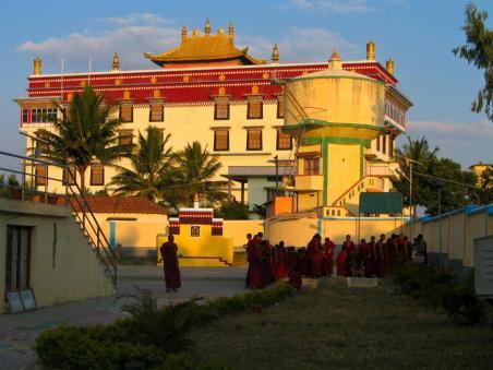 Tibetische Siedlung in Bylakuppe