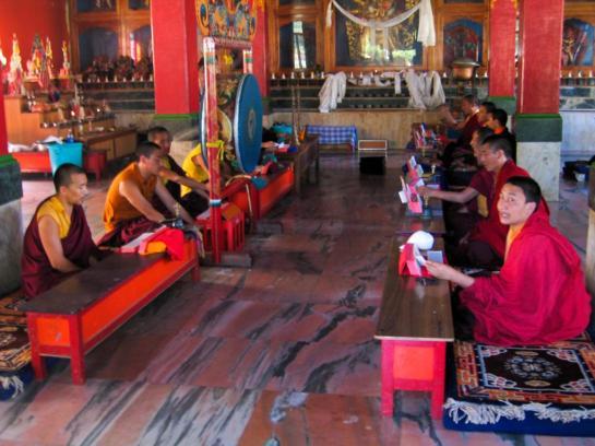 Unterricht für Mönche