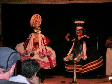 Kathakali-Tanz