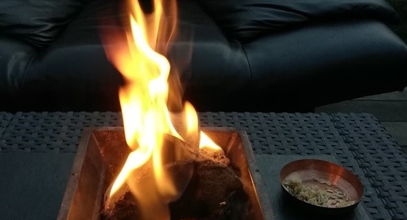 vedisches Feuer