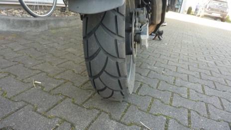 Michelin Anakee II Hinterreifen nach 25.000 km