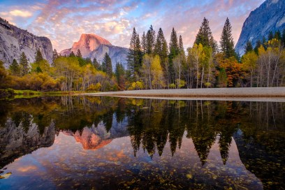 El Capitain, Fall, Reflection, Sunset, Yosemite_DSCF5598_1180