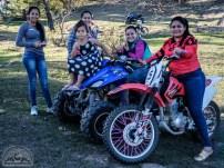Frauenpower - die Ladies in Santiago brettern, was das Zeug hält.