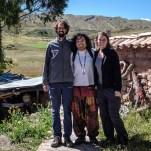 Schamane Italo nimmt uns gleich für einen Monat im Healing Tree Center in Cusco auf, wo wir als spirituelle Coaches arbeiten werden.