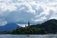 Inselkirche in Bled (Slowenien)