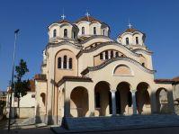 Orthodoxe Kirche in Shkodra. Die verschiedenen Religionen leben in Albanien auf engstem Raum friedlich zusammen.