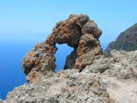 Der Vulkanismus hinterlässt imposante Gebilde.