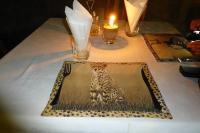 ... der ein traumhaftes Candlelight-Diner serviert hat.